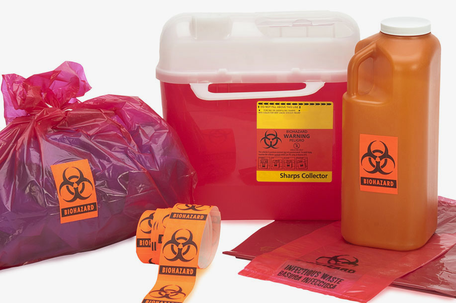 Red Medical Waste Disposal Bags Us Bio Clean