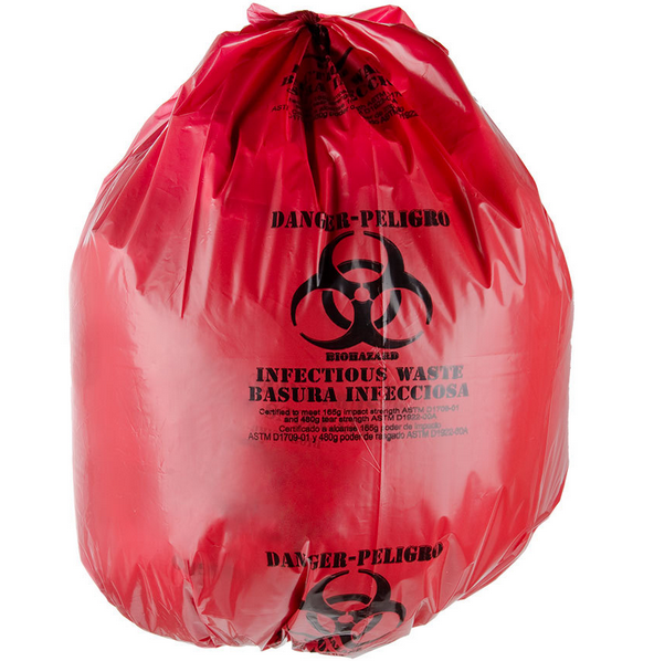 Medical Waste Disposal Bag Red